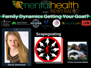 Podcast Interview on Scapegoating Glynis Sherwood